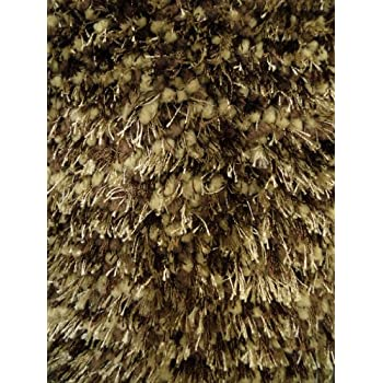 Amazon Com Brown Mix Shag Rug 7 Ft 8 In X 10 Ft 6 In