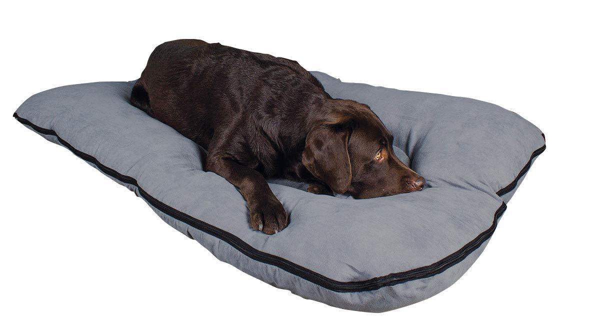 Cama para perros/colchoneta para perros XXL, 120x80 cm, gris, colchón de perro