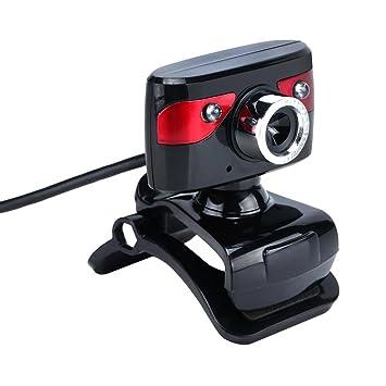 MagiDeal Luces LED Webcam HD 12.0m Píxeles Cámara Giratoria para Ordenador PC Portátil Herramientas: Amazon.es: Electrónica
