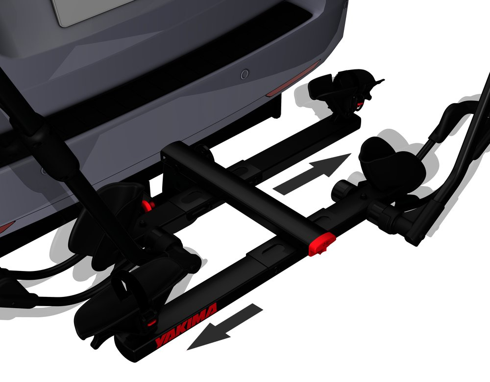 Yakima HoldUp Tray Style Hitch Bike Rack, 1 1/4