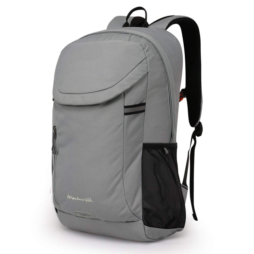 ハイキングバックパック40リットルスポーツアウトドアスクール旅行登山キャンプ大容量防水リュックサックメンズと女性 ZHAOYONGLI (Color : Gray, Size : 40L) B07ST8SH3G Gray 40L