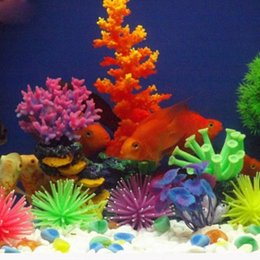 Amazon.com : GOOTRADES Pack of 6 Artificial Sea Anemone Coral ...
