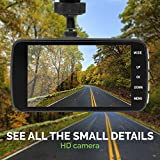 Dash Cam Recorder with ASDS System, 1080p HD Dual Dashboard Mounted Camera for Car and Truck, Front and Rear Video Dashcam with Wide Angle Lens, Night Vision, G-Sensor