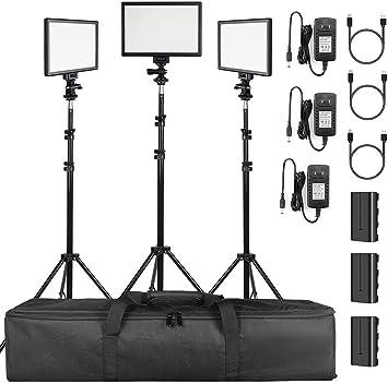 Video light 4 adjustable tripod 5600 K photography light photography LED lighting wedding light interview
