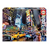 Educa Times Square New York Puzzle (1000 Piece), One Color