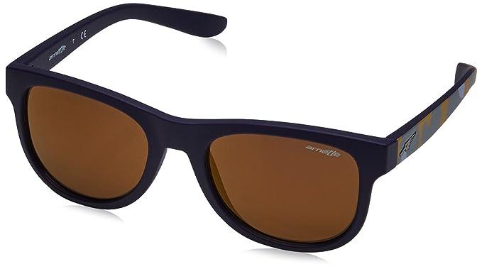 Arnette Unisex-Erwachsene Sonnenbrille 0AN4222 41/81, Schwarz (Black/Polargray), 54