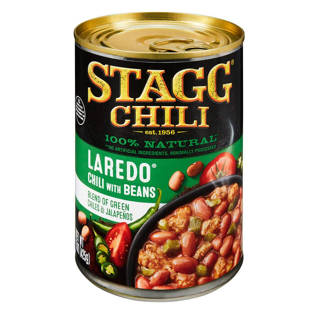 Stagg Laredo Chili with Beans, 15 Ounce (Pack of 6)