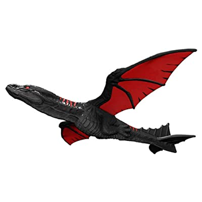 Methink Toys Hand Launch Throwing Glider Aircraft Glider Dragon Dark: Toys & Games