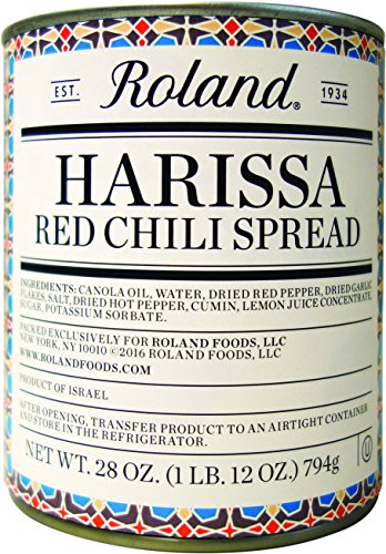 - Roland Foods Harissa Red Chili Spread,  28 Ounce
