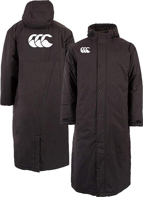 Black Canterbury Pro Rugby Sub Jacket