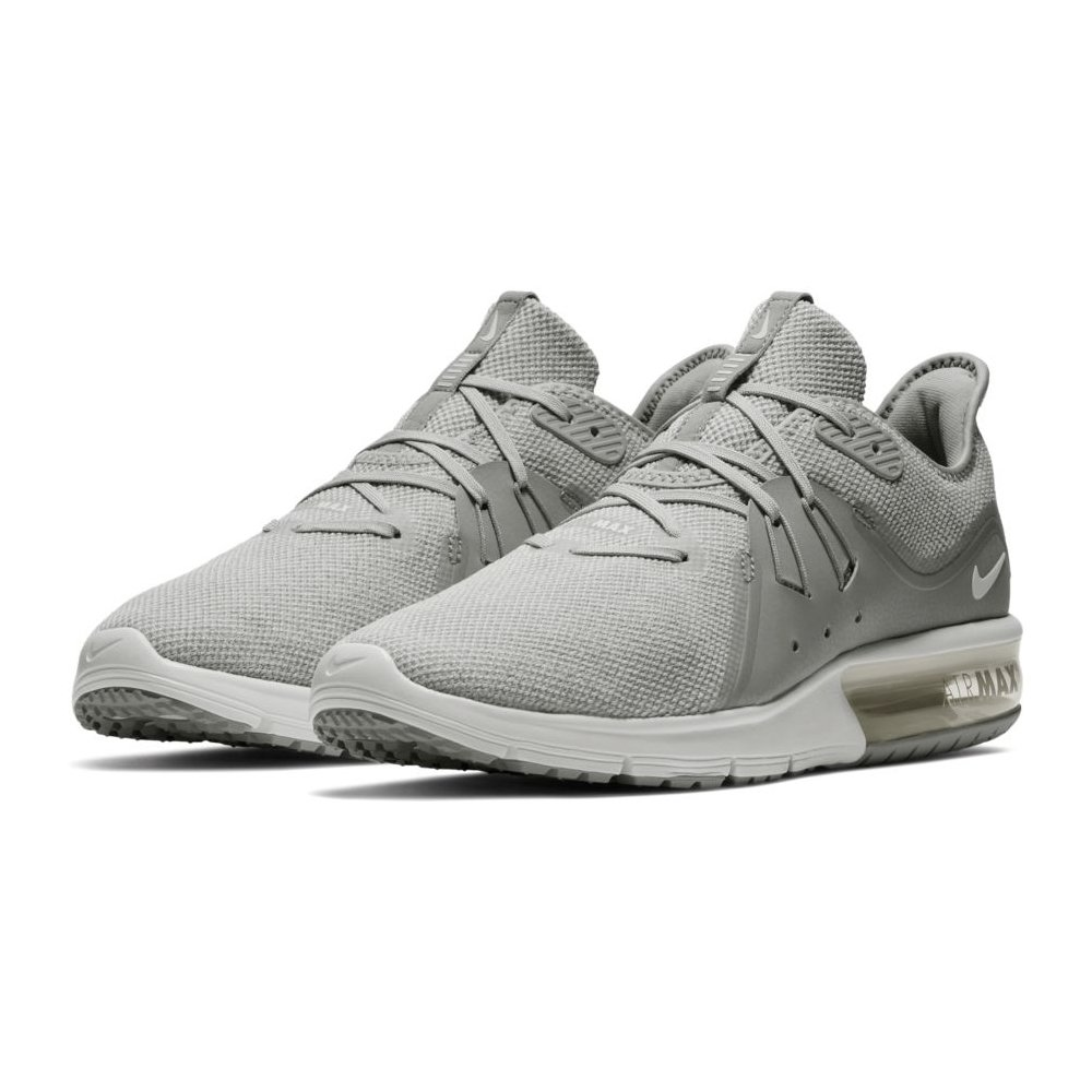 1ce2def646d Galleon - NIKE Men s Air Max Sequent 3 Running Shoe Wolf Grey White Pure  Platinum (10.5 D US)