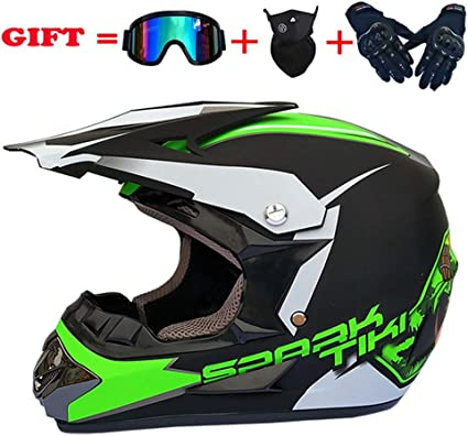 Amazon.es: SSIC-Full Face - Casco para bicicleta de montaña con ...