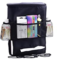 ROSENICE Car Seat Organiser Multifunctional Car Back Seat Organiser Ipad Hanging Bag