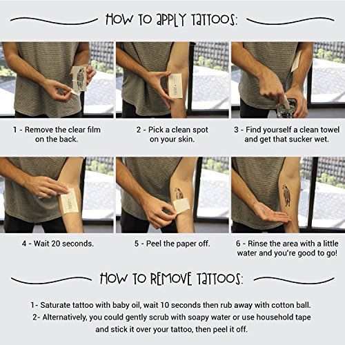 picture about Printable Tattoos Paper known as Tattify Do it yourself Short-term Tattoo Paper 1 Sheet Pack For Inkjet