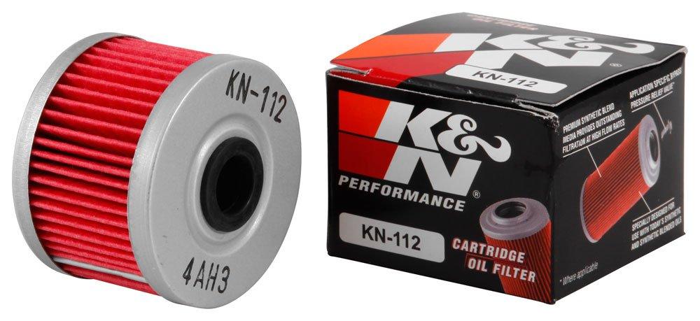 K&N KN-112 Motorcycle/Powersports High Performance Oil Filter K&N Engineering