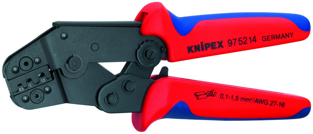 KNIPEX 97 52 14 Crimp Pliers High Leverage by KNIPEX Tools