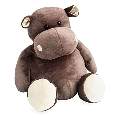 HISTOIRE D'OURS - Large Stuffed HIPPO: Toys & Games