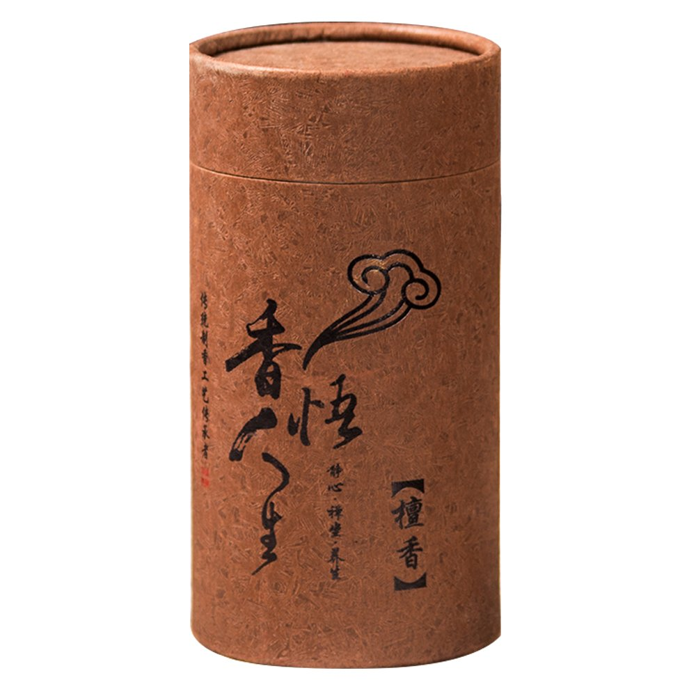 Wormwood incense coil sandalwood incense hotel drive midge aloes to taste fragrant lavender hotel toilet toilet deodorant (120 pieces of sandalwood incense coil)
