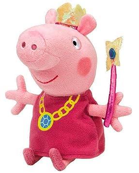 Ty Peppa Pig - Peluche de Peppa Pig vestida de hada: Amazon.es: Juguetes y juegos