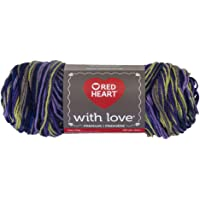 Red Heart® with Love™ E400.1401 Lana, Lavender Ivy, 1