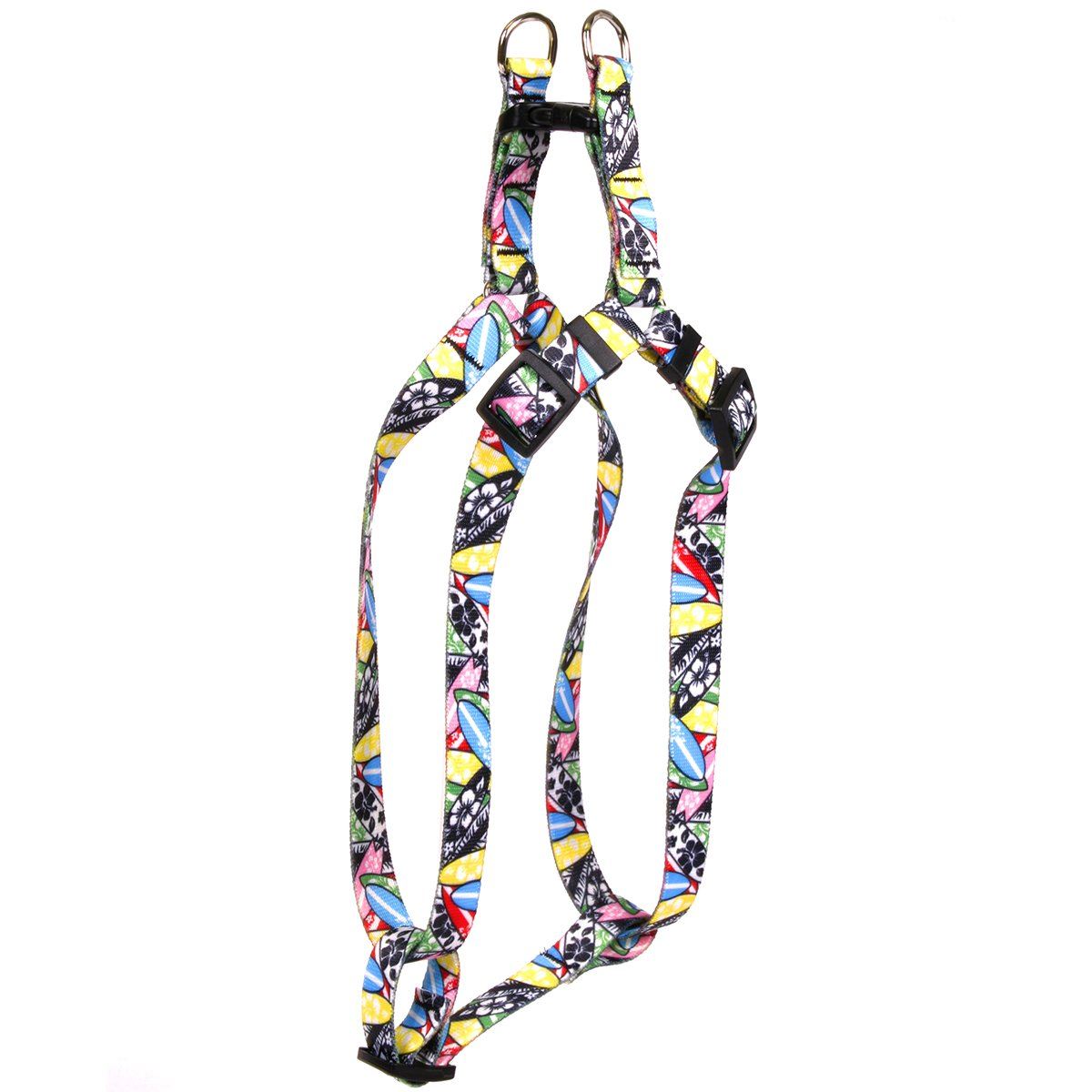 Yellow Dog Design Surfboards Step-in Dog Harness-Medium-3/4 Wide and fits Chest Circumference of 15 to 25'' by Yellow Dog Design