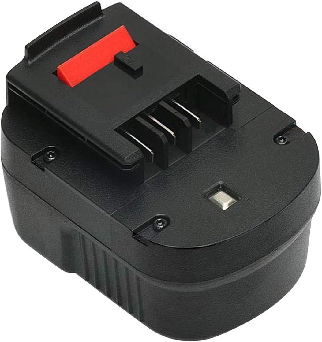 Advtronics 12V 3.5Ah NiMH Reemplace Batería para Black & Decker A12 HPB12 A12E A12-XJ A12EX FSB12 FS120B FS120BX A1712 B-8315 BD-1204L BD1204L BPT1047
