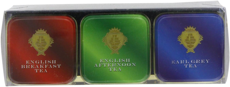 Classique Triple Pack Th/és anglais dans Tins Mini th/é anglais de s/élection-MT12