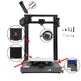 Amazon.com: KREATEIT Ender 3XS - Impresora 3D de aluminio ...
