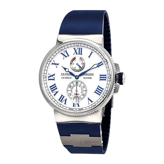 Ulysse Nardin Marine automático cronómetro Mens Reloj 1183 – 122 ...