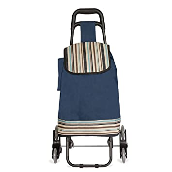 stair climbing folding utility cart for laundry grocery shopping and more