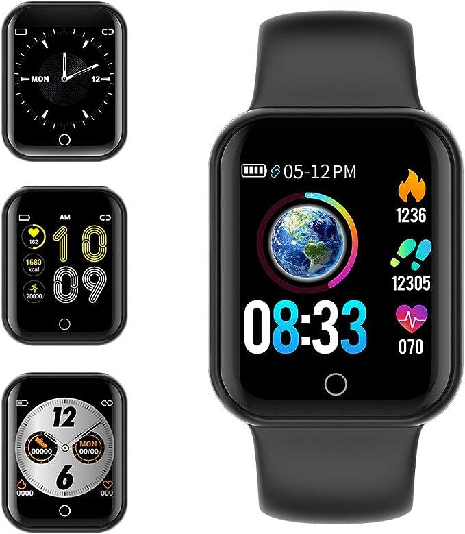 150 opinioni per KUNGIX Smartwatch Orologio Fitness Trakcer Pressione Sanguigna Monitor