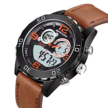 Numérique Afyh Mens Watch Montre Analogique Sports Digital VpLqSMUzG