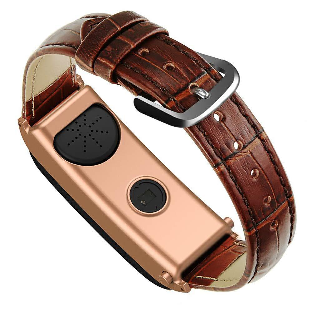 QHJ Farbdisplay Smart Watch, Sport Gürtel Armband Call Pedometer Herzfrequenz