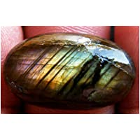 Labradorite Cabochon Oval Shape, 18Ct Natural Gemstone 25x15x5mm, K-5808