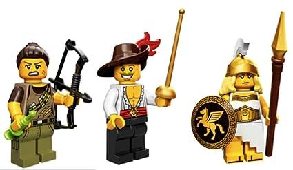 Amazoncom Dino Hunter Swashbuckler Greek Battle Goddess Lego