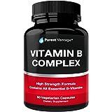 Vitamin B Complex Vitamins B12, B1, B2, B3, B5, B6, B7, B9, Folic Acid - Super B Complex Vitamins for Women, Men, Adults – Ai