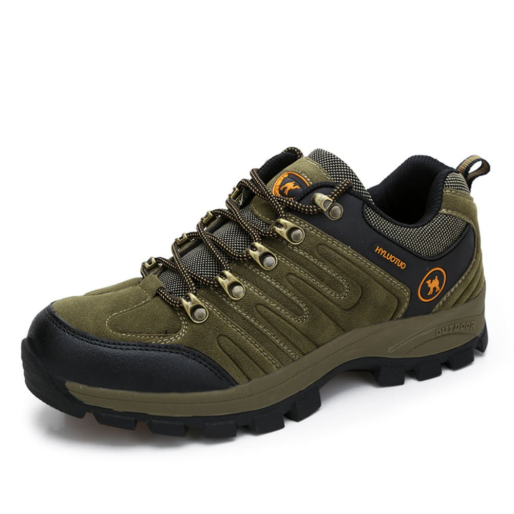 8a922fdcb2e 3C Camel Men's Outdoor Walking Travel Casual Comfortable Suede Lightweight  Breathable Hiking Boots Shoes