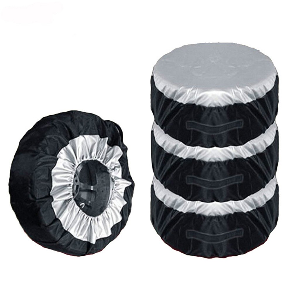 Majome Auto Auto Reifen Abdeckung Aufbewahrungstasche Rad Reifen Schutz Schutz 65cm Durable Oxford
