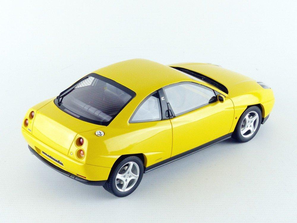 Otto Mobile Fiat Copa Turbo 1995, ot644, amarillo, en miniatura (escala 1/18: Ottomobile: Amazon.es: Juguetes y juegos