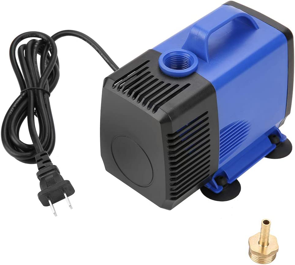 80W Electric Submersible Pump Spindle Motor Cooling Water Pump for CNC Engraving Machine - CN Plug 220V
