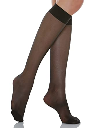 2bc2c664601 Relaxsan Basic 700-70 denier light support knee high socks 12-17 mmHg   Amazon.co.uk  Clothing