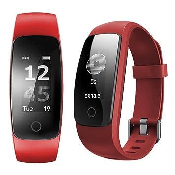 id107 Plus HR Heart Rate Monitor Smart pulsera - rojo ...