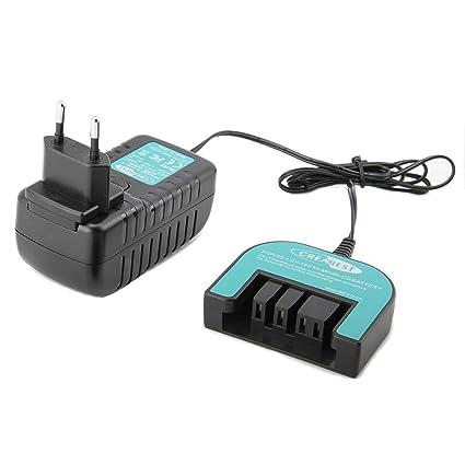 Creabest Cargador para baterías Black & Decker Ni-MH Ni-Cd, Cargador Multivolt 1.2V-18V, ...