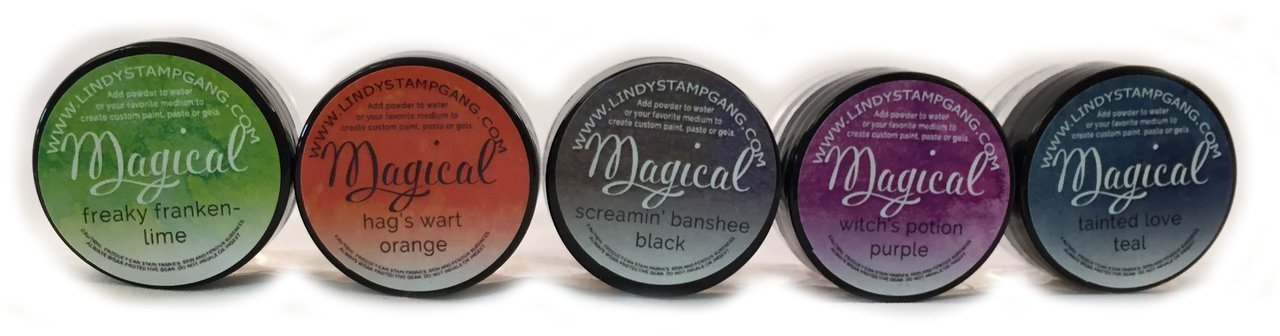 0.25-Ounce Haunted Halloween Lindys Stamp Gang Magical Jar Set 5 Per Package