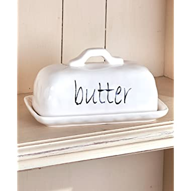 Stated Simply Butter Dish