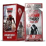 Screamin Energy Max Hit, Maximum Strength Energy Shot, Coffee Mocha Flavor, 24 Count