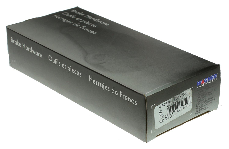 Rear Wagner H7406 Parking Brake Hardware Kit