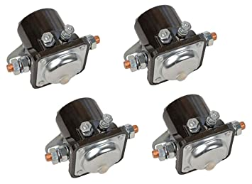 FOUR (4) NEW WINCH SOLENOIDS Solenoid Relay for EARLY WARN MODELS XD9000i Warn Xd I Solenoid Wiring Diagram on