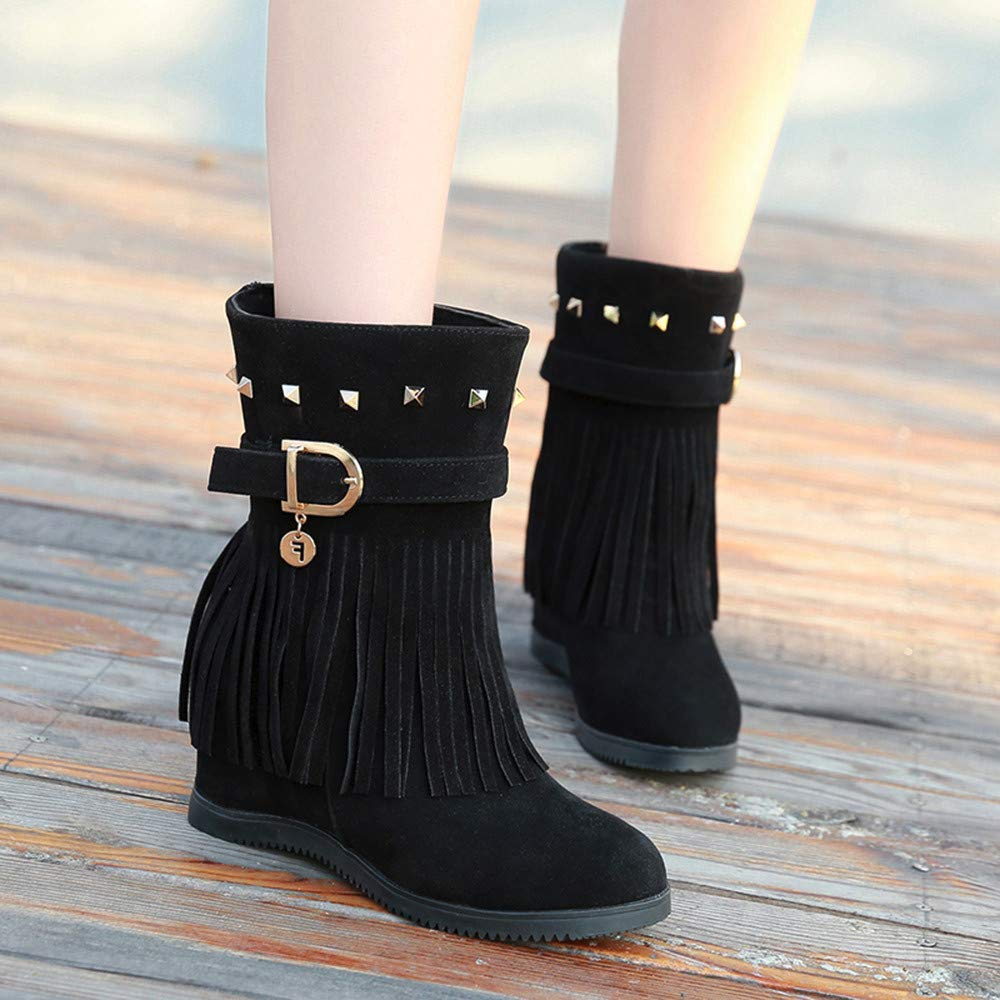 Stivali invernali da pioggia estiva per le donne Stivali antiscivolo caldi Zeppe Platform Ankle Rainning Shoes Stivali in gomma taglia 36 41
