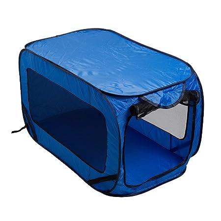 Dog Kennel - Caseta para perro y gato, cama plegable de viaje: Amazon.es: Productos para mascotas